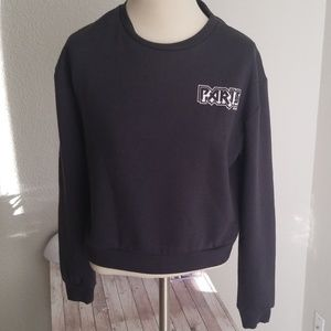 Paris Grey Sweat Shirt Size Small